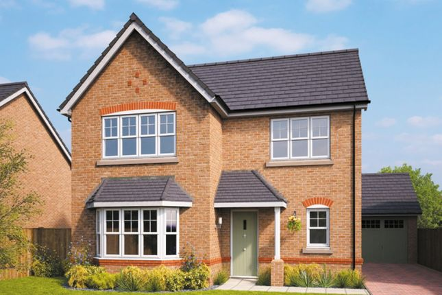 Thumbnail Detached house for sale in Erddig Place, Croesnewydd Road, Wrexham