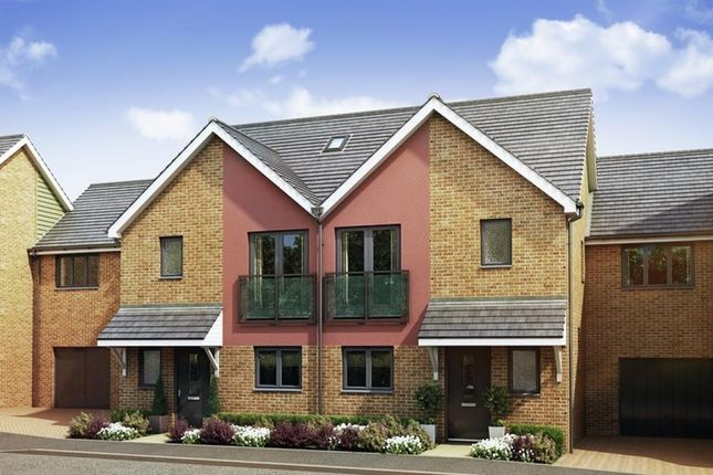 Thumbnail Semi-detached house for sale in Parkview At Springhead Park, Northfleet, Gravesend