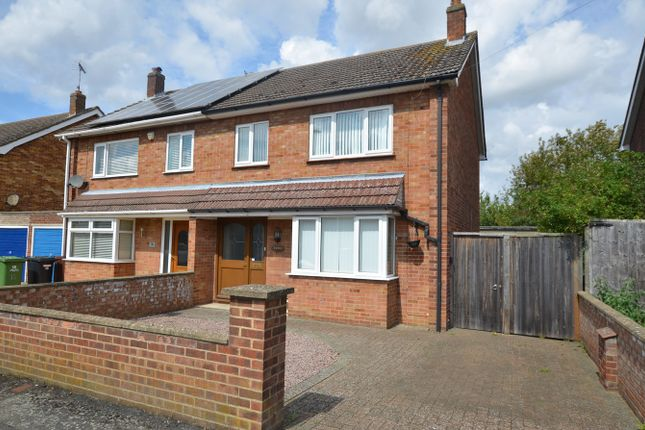 Thumbnail Semi-detached house to rent in Lichfield Avenue, Peterborough