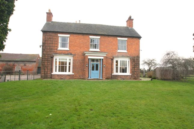 Thumbnail Detached house to rent in Wrenbury, Nantwich