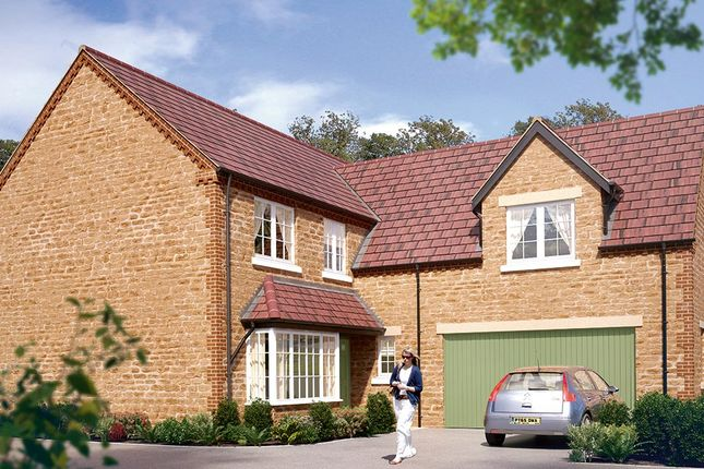 "Thumbnail Detached house for sale in ""The Langham"" at Boughton Road, Moulton, Northampton"