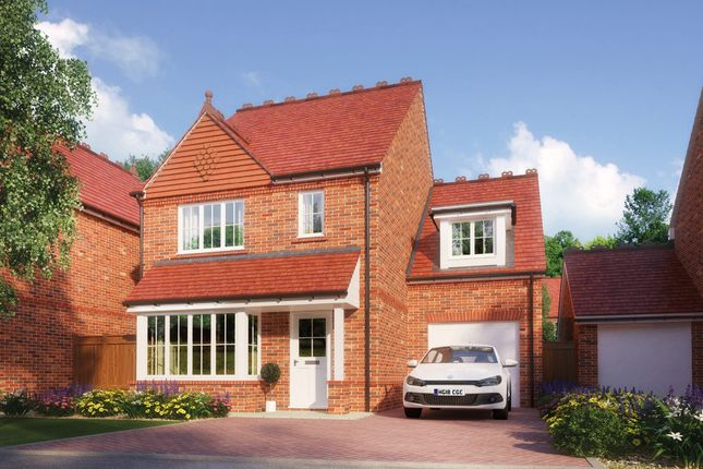 Thumbnail Detached house for sale in Highfield, Off Baldways Close, Wingrave, Aylesbury