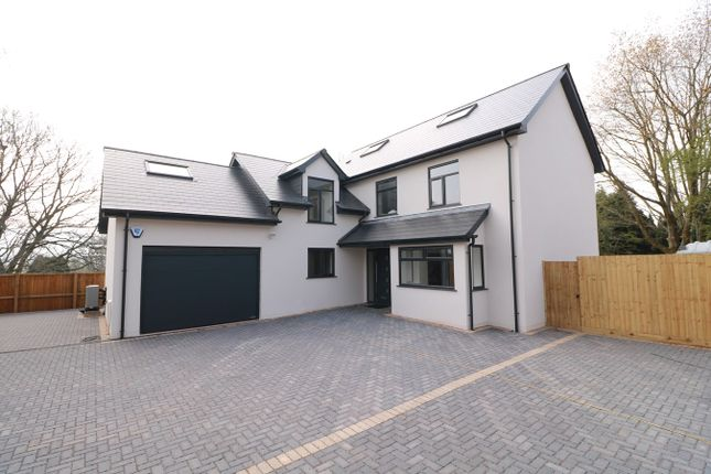 Thumbnail Detached house for sale in Parc Road, Llangybi, Usk