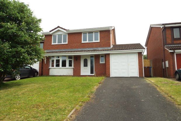 Thumbnail 4 bedroom property to rent in Gloucester Way, Cannock