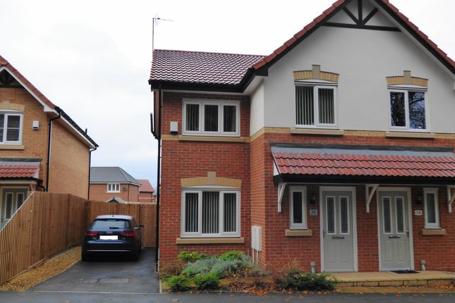 Thumbnail Semi-detached house for sale in Holme Road, Eccleston