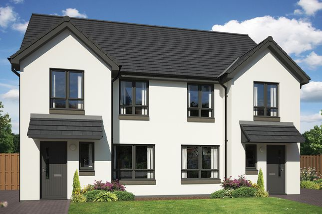 3 bedroom semi-detached house for sale in Milligan Drive, Edinburgh