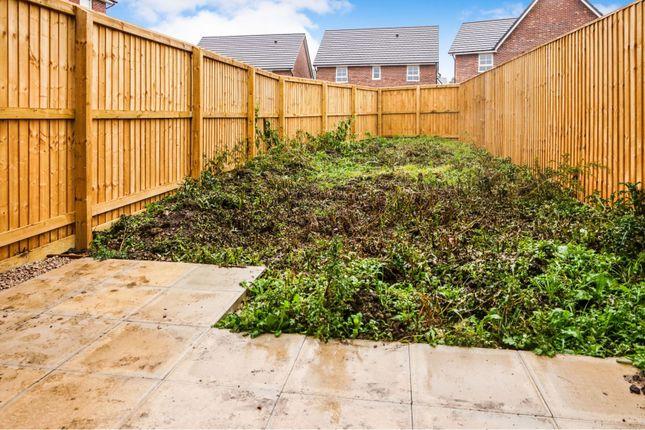 Rear Garden of 1 Crompton Place, Garstang, Preston PR3