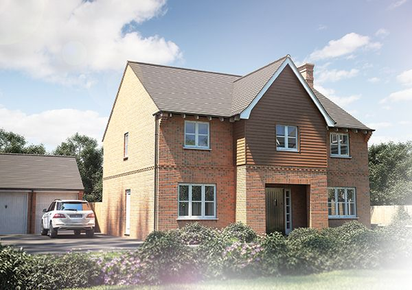 """Thumbnail Detached house for sale in """"The Sandham"""" at Tile Barn Row, Woolton Hill, Newbury"""
