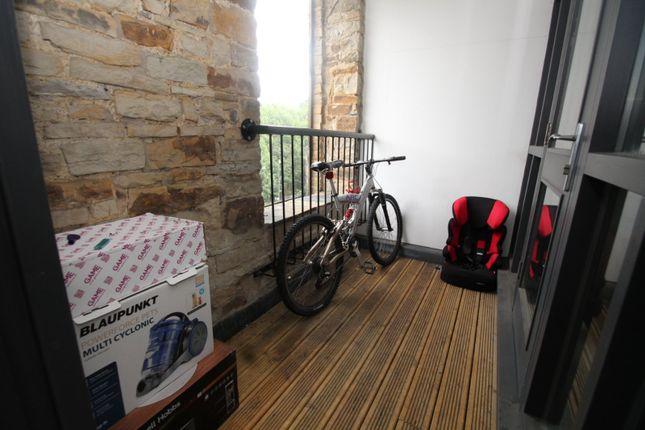 Balcony of Parkwood Mill, Stoney Lane, Leymoor, Huddersfield, West Yorkshire HD3