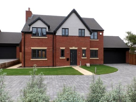 Thumbnail Detached house for sale in Willows Lane, Atherstone, Warwickshire