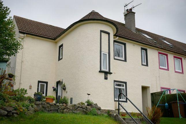 Thumbnail End terrace house for sale in Braehead, Lochwinnoch