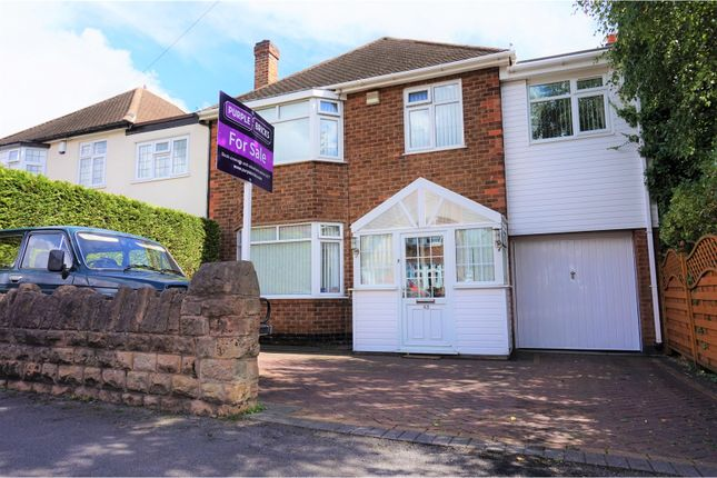 Thumbnail Detached house for sale in Arleston Drive, Wollaton