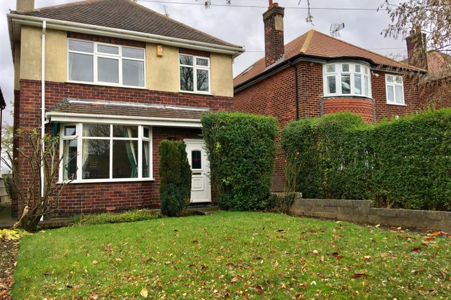 3 bed detached house to rent in Mansfield Road, Warsop, Mansfield