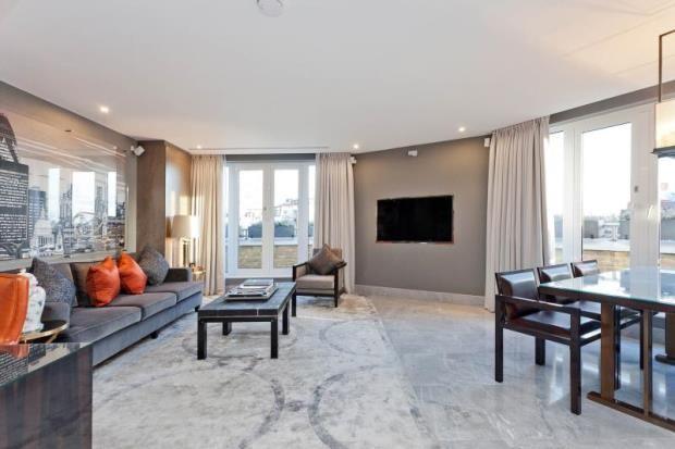 Thumbnail Flat to rent in Hans Crescent, Knightsbridge, London
