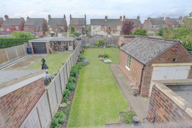 View Of Rear Garden From Bedroom