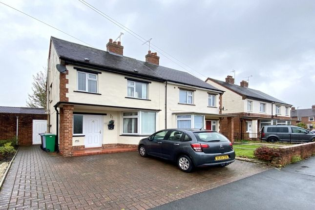 Thumbnail Semi-detached house for sale in Hillfield Place, Nantwich