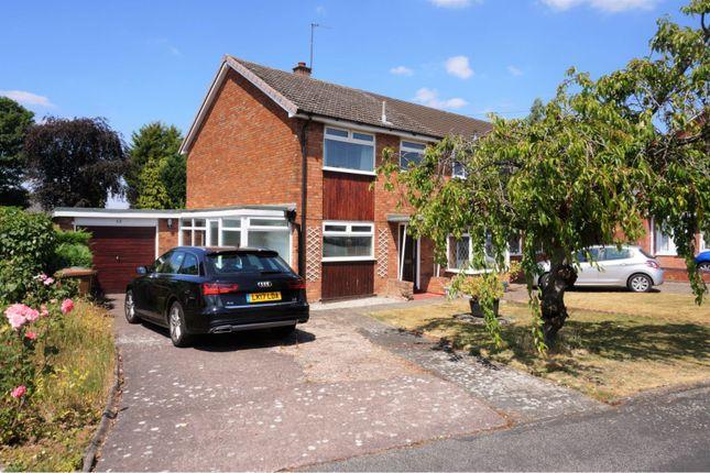 Thumbnail Semi-detached house for sale in Longmeadow Road, Walsall