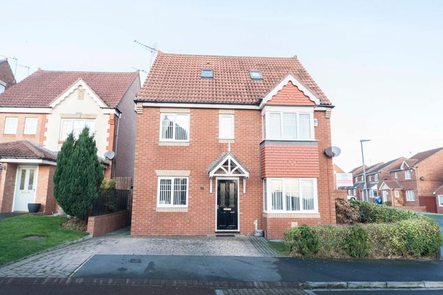 Thumbnail Detached house for sale in Foxglove Close, Hartlepool