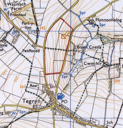 Thumbnail Land for sale in Tegryn, Llanfyrnach
