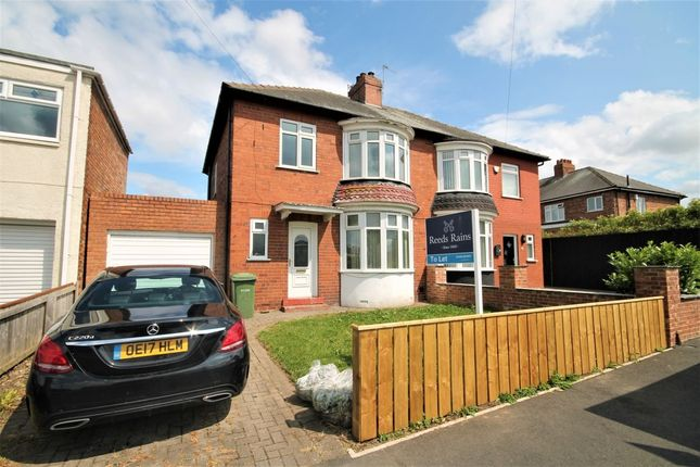 Thumbnail Semi-detached house to rent in Fairfield Road, Stockton-On-Tees