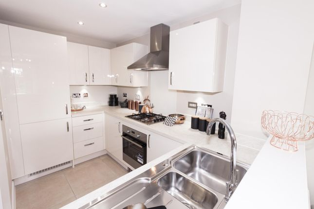 """Thumbnail Semi-detached house for sale in """"Rochester"""" at Rykneld Road, Littleover, Derby"""