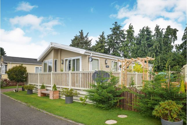 Thumbnail Mobile/park home for sale in Cawdor Road, Nairn