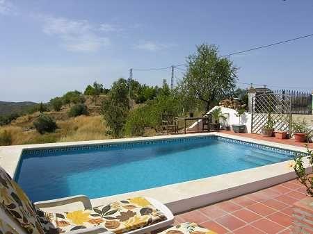 Pool Area of Spain, Málaga, Sedella