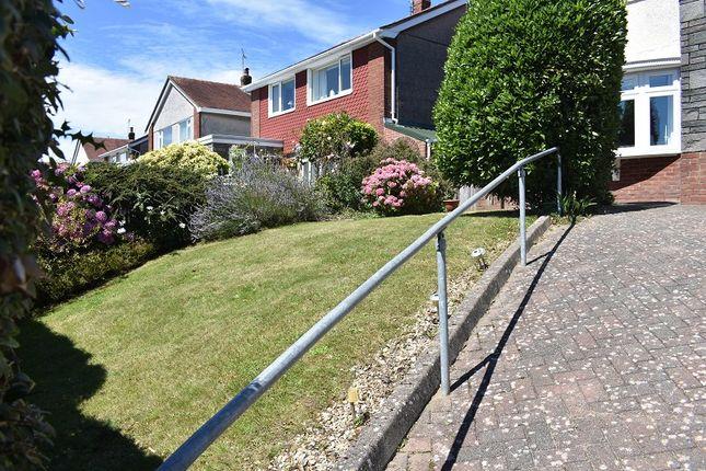 Front Garden of Rhyd-Y-Defaid Drive, Derwen Fawr, Sketty, Swansea SA2