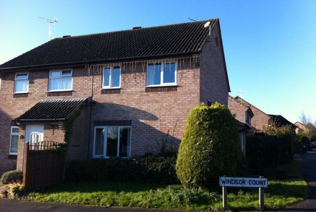 Thumbnail Semi-detached house to rent in 124, Hallam Way, West Hallam