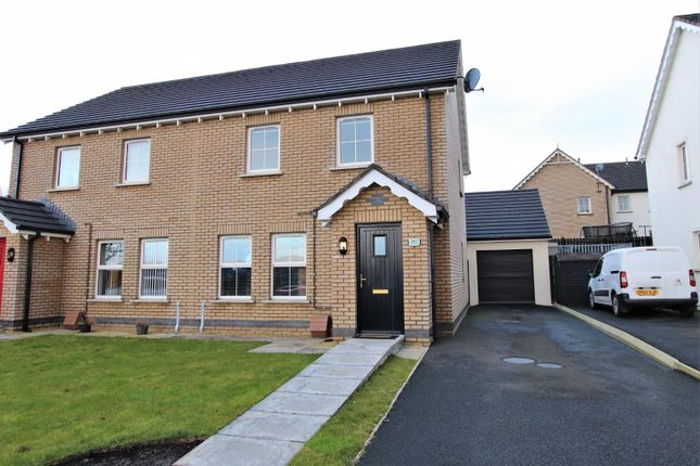 3 bed semi-detached house for sale in 182, Gortin Meadows, Newbuildings BT47