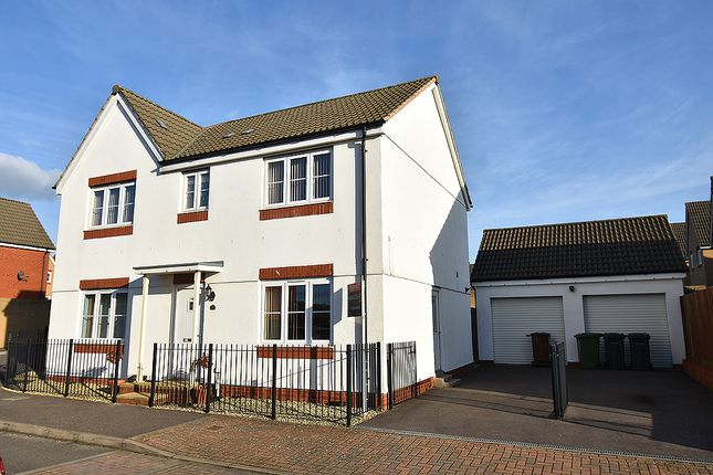 Thumbnail Detached house for sale in Resolution Road, The Fairways, Exeter