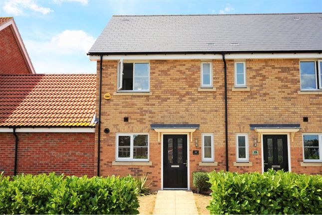 Thumbnail Semi-detached house for sale in Markhams Chase, Basildon