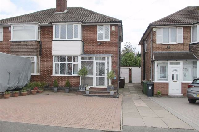 Thumbnail 3 bed semi-detached house for sale in Cranmore Road, Castle Bromwich, Birmingham