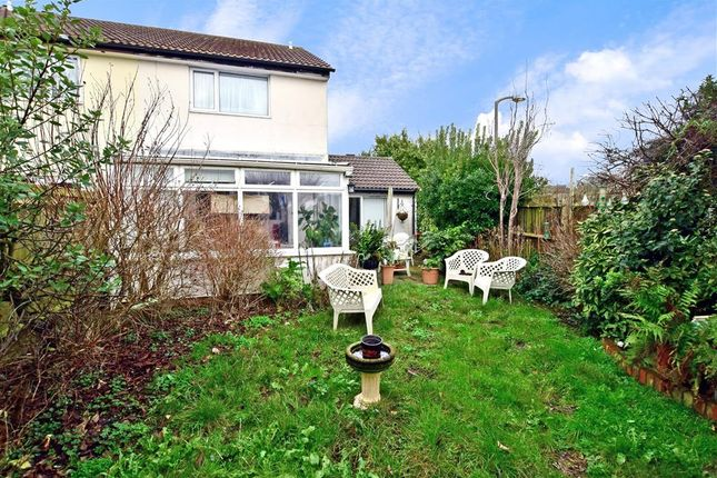 Rear Garden of The Sheepfold, Peacehaven, East Sussex BN10