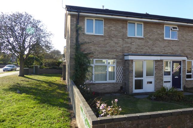 Thumbnail End terrace house to rent in Mariners Close, Gorleston, Great Yarmouth