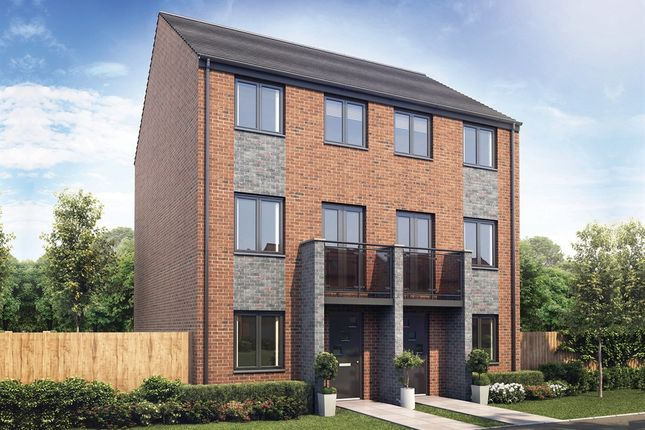 "Thumbnail End terrace house for sale in ""The York"" at Whinney Hill, Durham"