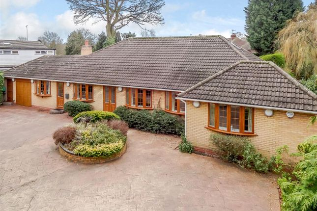 Thumbnail Detached bungalow for sale in Warwick Road, Solihull