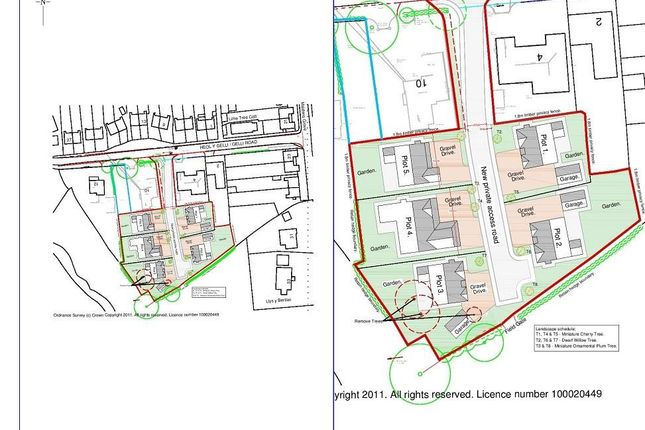 Thumbnail Land for sale in Gelli Road, Llandybie, Ammanford