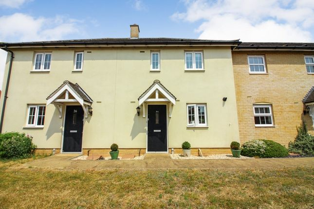 Thumbnail Terraced house for sale in Oriole Drive, Cringleford, Norwich