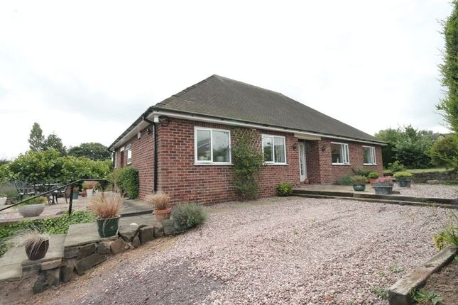 Thumbnail Detached bungalow for sale in Newcastle Road, Market Drayton