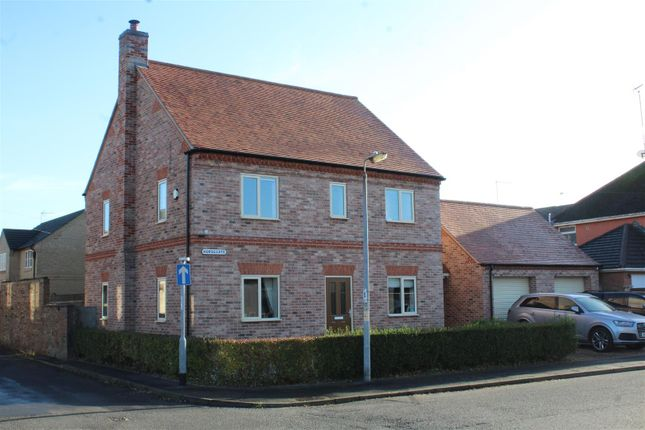 Thumbnail Detached house for sale in Horsegate, Whittlesey, Peterborough