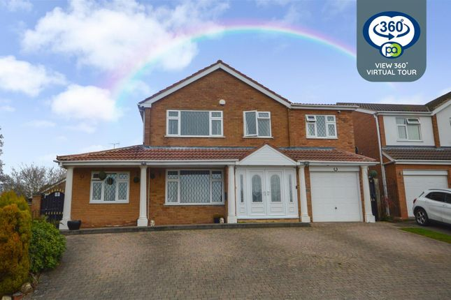 Thumbnail Detached house for sale in Ilford Drive, Styvechale Grange, Coventry