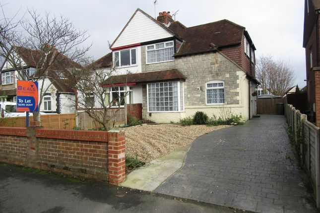Thumbnail Semi-detached house to rent in Station Road, Drayton, Portsmouth