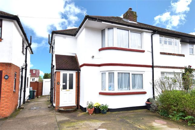 3 bed semi-detached house for sale in Beechcroft Avenue, Croxley Green, Rickmansworth, Hertfordshire WD3