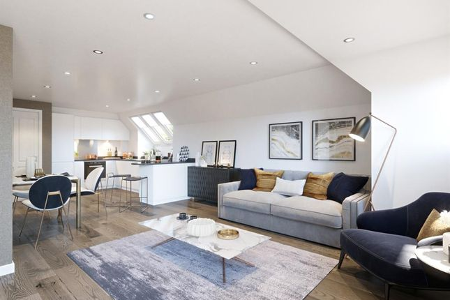 Living Area of Purley Hill, Purley, Surrey CR8