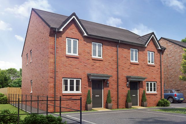 "Thumbnail End terrace house for sale in ""The Windsor"" at Hartburn, Morpeth"