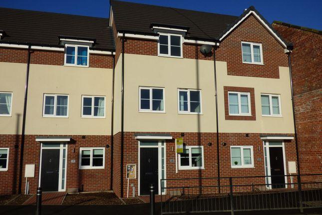 Thumbnail Town house to rent in Park View, Burradon Road, Burradon, Cramlington