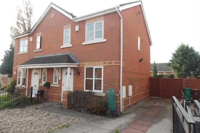 Thumbnail Semi-detached house to rent in Venture Scout Way, Cheetham Hill, Manchester