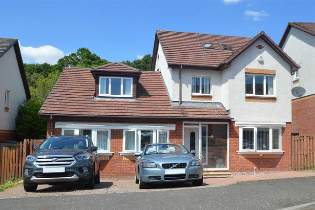 Thumbnail Detached house for sale in Pentland Crescent, Larkhall