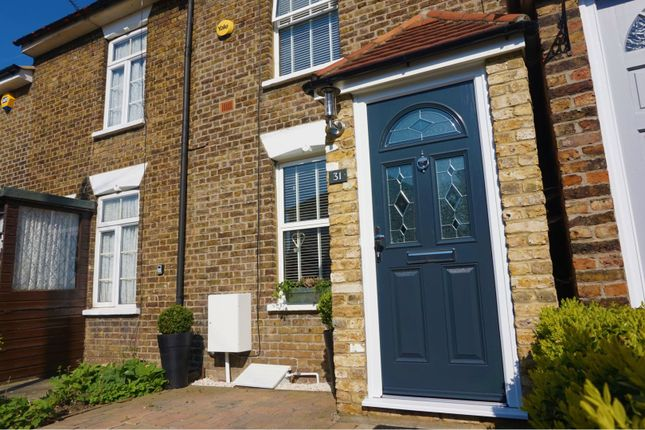 Thumbnail Terraced house for sale in Milton Road, Brentwood